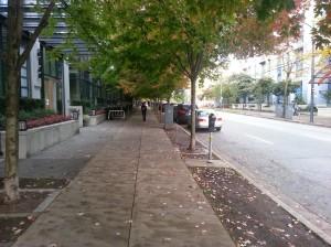 Sidewalk on Seymour