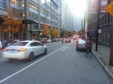 paint bike lane